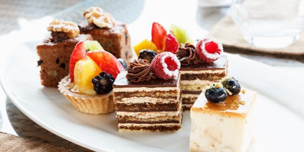 Znajdź zdrowe składniki do ciasta
