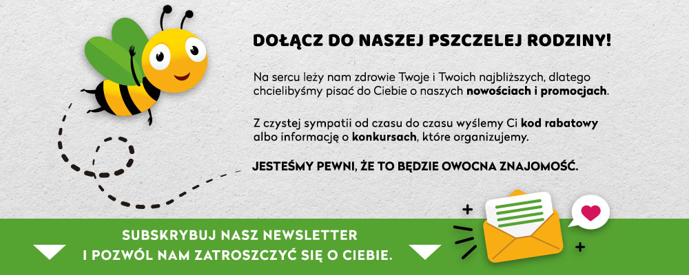 Zapisz się do Newslettera Bee.pl