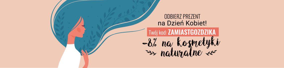 Kod zniżkowy na kosmetyki naturalne z okazji Dnia Kobiet >>