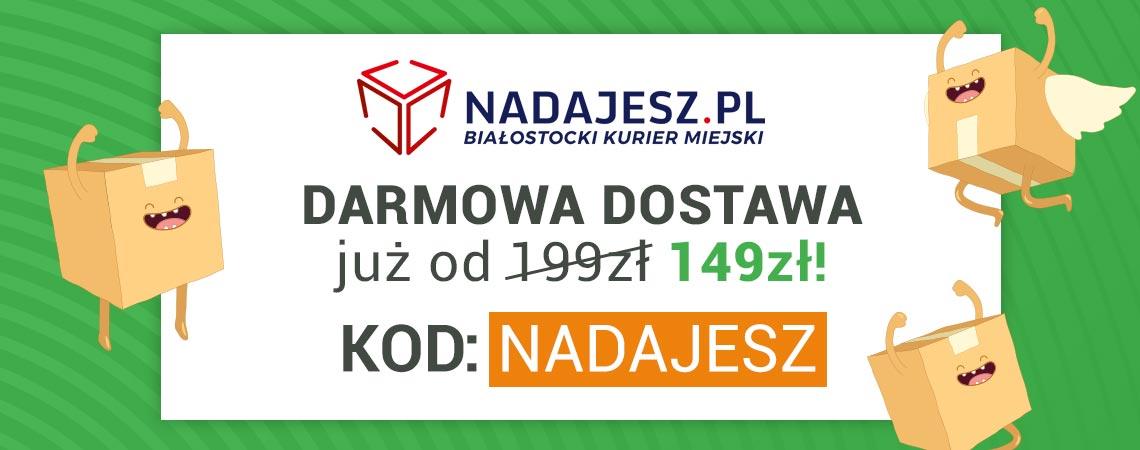 Poznaj Nadajesz.pl kuriera miejskiego dostępnego w Białymstoku - >>