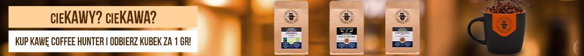 Coffee Hunter + kubek za 1 gr