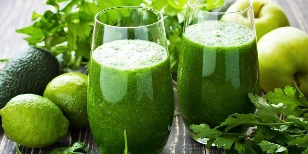 zielony napój energetyczny