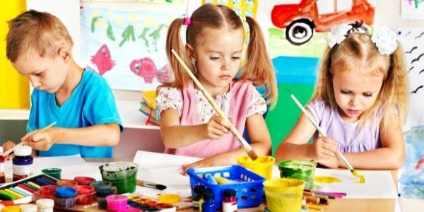 Przybory plastyczne dla przedszkolaka