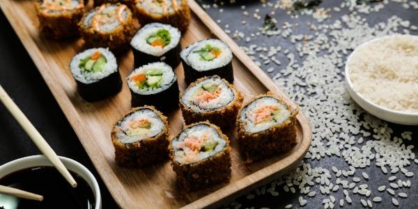 sushi rodzaje, sushi właściwości