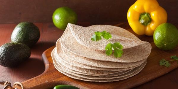 Tortilla serowa bez mięsa - prosty przepis