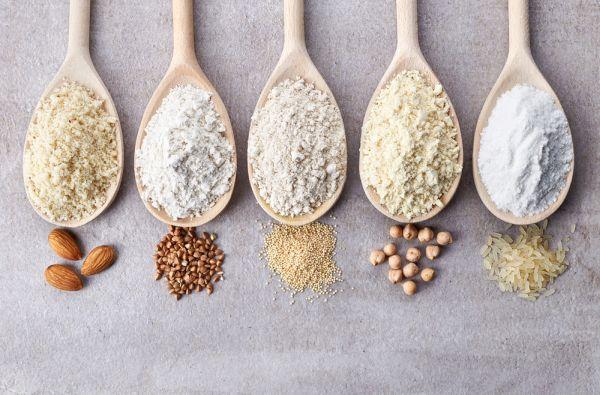 przykładowe składniki diety bezglutenowej