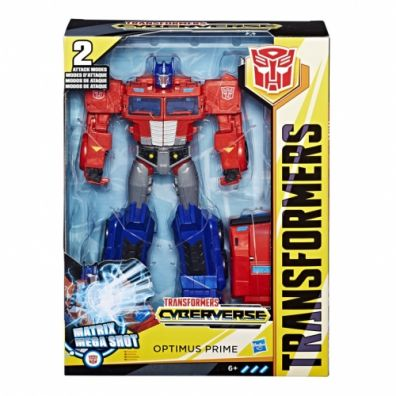 Transformers Cyberverse Ultimate Optimus Prime E2067 HASBRO
