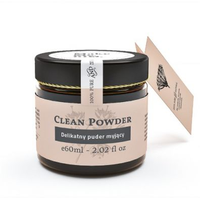 Clean Powder- Delikatny puder myjący 60ml Make Me Bio