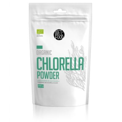 Diet-Food Chlorella w proszku 200 g Bio