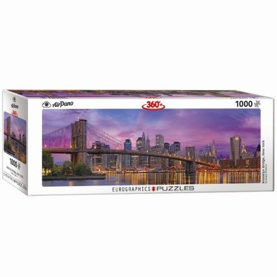 Puzzle 1000 Panorama Most Brooklyn  w Nowym Jorku 6010-5301 Eurographics