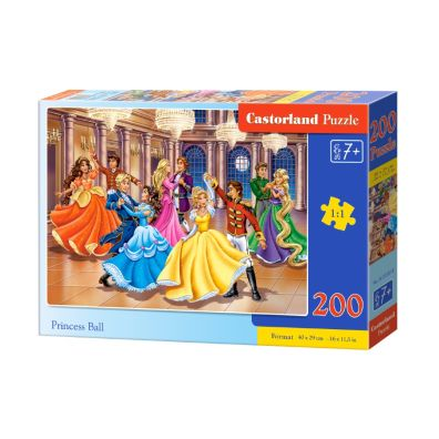 Puzzle 200 Princess Ball Castorland