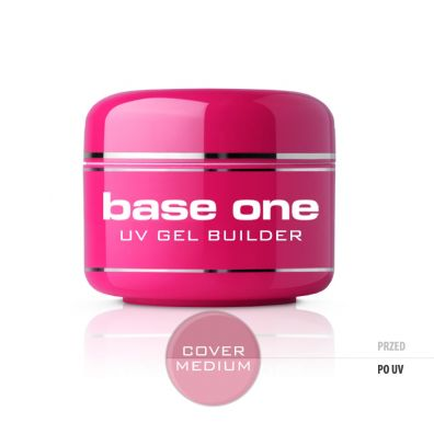 Silcare Gel Base maskujący żel UV do paznokci One Cover Medium 30 g
