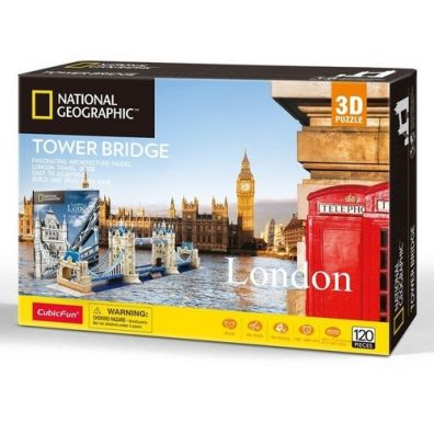 Puzzle 3D Tower Bridge Cubic Fun 20978 Dante