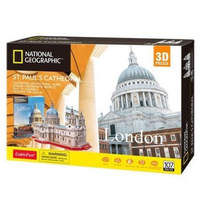 Puzzle 3D National Geographic St. Paul's Cathedral Dante