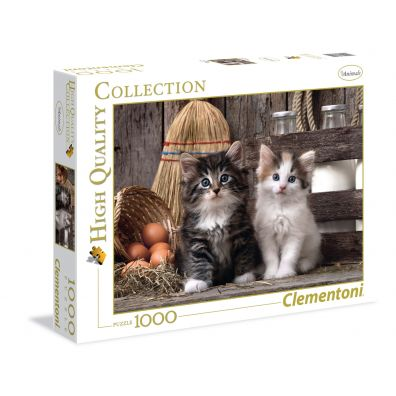 Puzzle 1000 Lovely Kittens