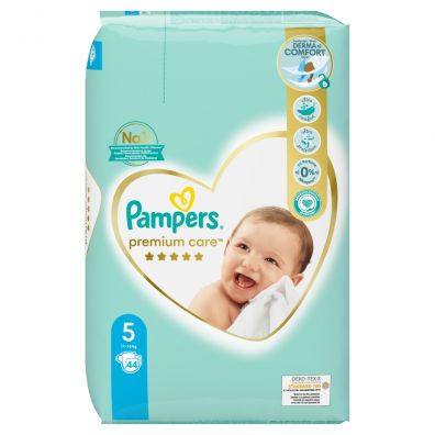 Pampers Pieluchy Junior 5 Premium Care (11-16 kg) 44 szt.