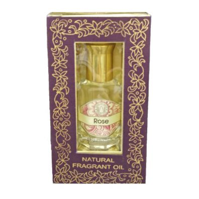 Song Of India Indyjskie perfumy w olejku - Rose 10 ml