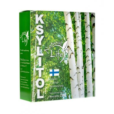 Natural Life Ksylitol cukier brzozowy 250 g