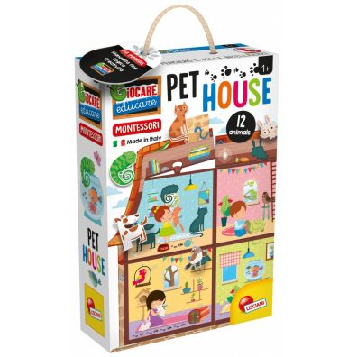 Montessori Pet House Lisciani
