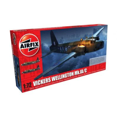 Model plastikowy Vickers Wellington MK.IA/C