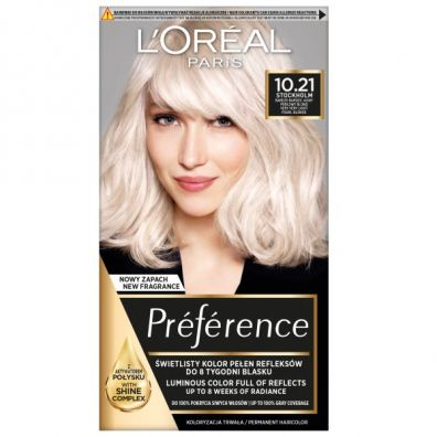LOreal Paris Recital Preference farba do włosów Z2 10.21 Stokholm