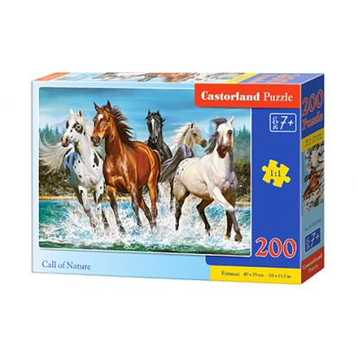 Puzzle 200 Call of Nature Castorland