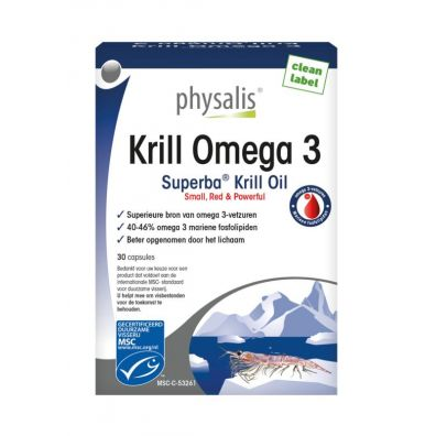 Physalis Suplement diety Krill Omega 3 30 kaps.