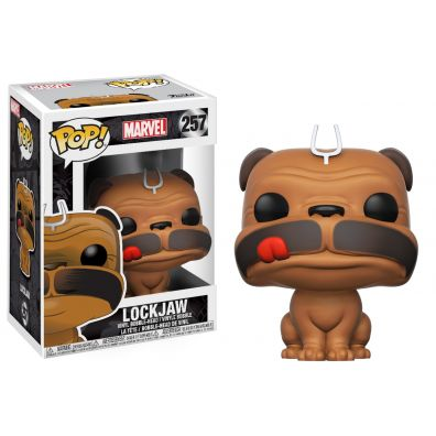 Funko POP Marvel Bobble: Lockjaw