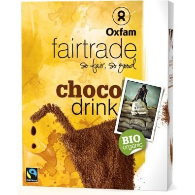Oxfam Fair Trade Czekolada do picia fair trade 375 g Bio