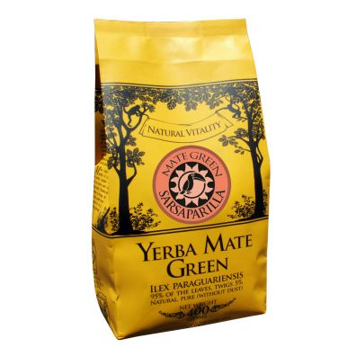 Mate Green Yerba Mate SARSAPARILLA 400 g