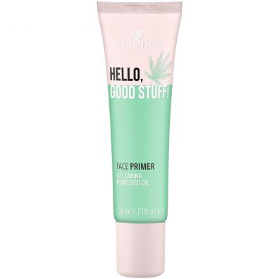 Essence Hello Good Stuff Face Primer baza pod makijaż Caring Hemp Seed Oil 30 ml
