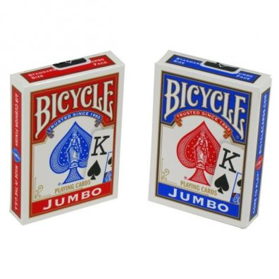 Karty Rider Back Jumbo BICYCLE United States Playing Card Company
