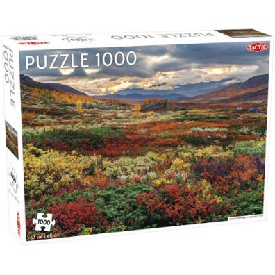 Puzzle 1000 Indian Summer in Norrbotten Tactic