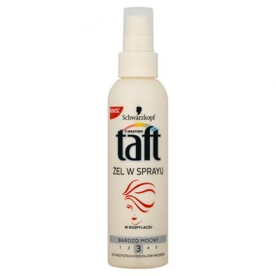 Taft Extra Strong Gel Spray żel do włosów w sprayu 150 ml