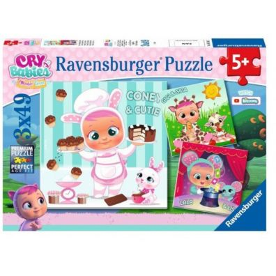 Puzzle 3w1. Cry Babies. Magic Tears Ravensburger