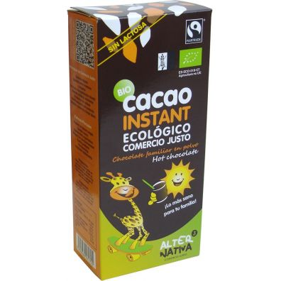 Alternativa Czekolada do picia fair trade bezglutenowa 250 g bio