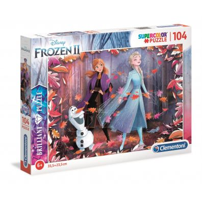 Puzzle 104 Brilliant Frozen 2