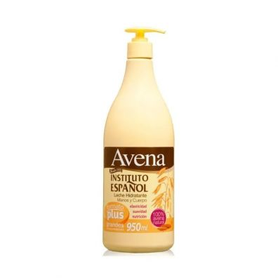 Instituto Espanol Avena Liche Hidratante Manos&Cuerpo balsam do ciała Owies 950 ml