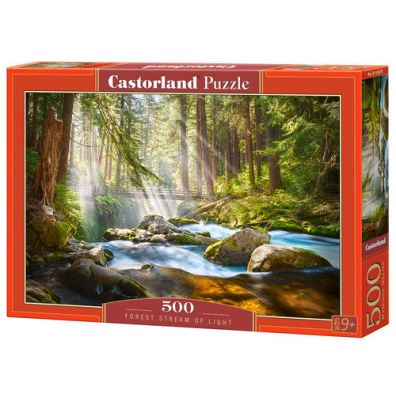 Puzzle 500 Forest Stream of Light CASTOR