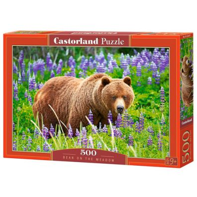 Puzzle 500 Bear on the Meadow CASTOR