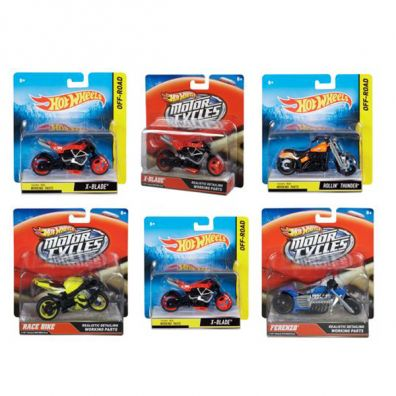 Hot Wheels Motocykle Street Power Ast.