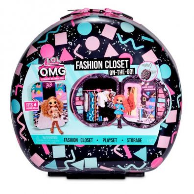 LOL Surprise OMG Fashion Closet On-The-Go Mga Entertainment