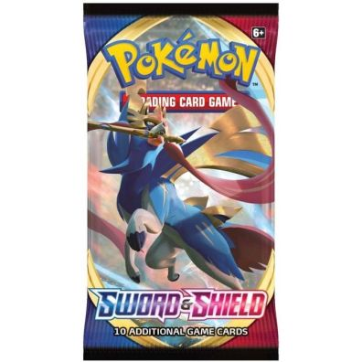 Pokemon tcg sword shield booster swsh01 1 paczka