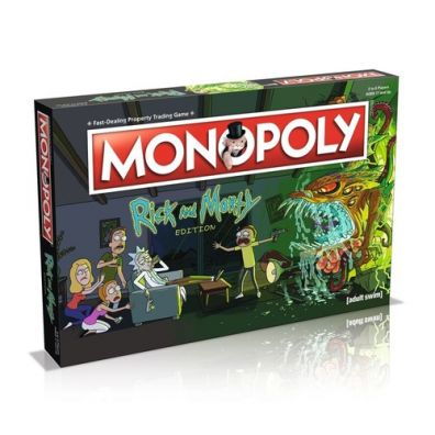 Monopoly Rick and Morty wersja angielska