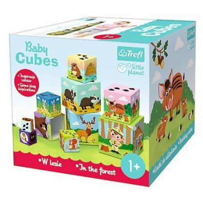 Little Planet - Baby Cubes W lesie TREFL