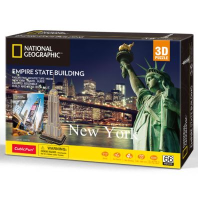 Puzzle 3D. National Geographic. Empire State Building