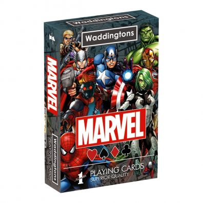 Waddingtons No. 1 Marvel Universe Playing Cards