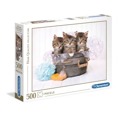 Puzzle High Quality Collection Kittens AND soap