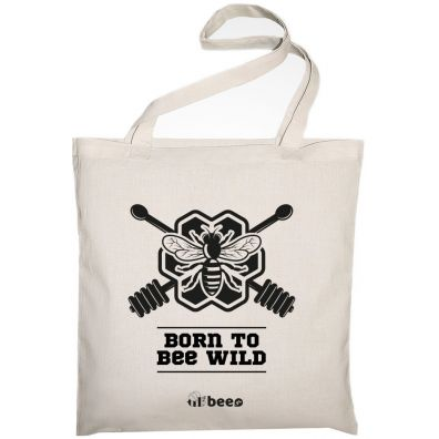 Allbag Bawełniana torba Born to bee wild