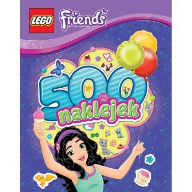 500 naklejek. LEGO ® Friends